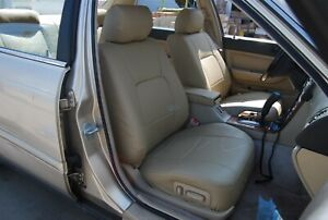 Volvo S40 2000 2004 Iggee S Leather Custom Fit Seat Cover 13 Colors Available
