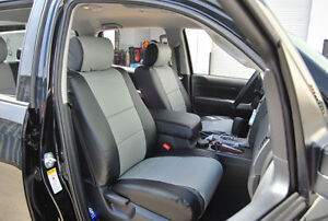 Toyota Tundra 2007 2013 Iggee S leather Custom Fit Seat Cover 13colors Available
