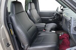Chevy S10 Pick Up 1982 1993 Iggee S leather Custom Seat Cover 13colors Available