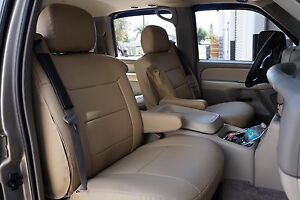 Chevy Silverado 2003 2006 Iggee S leather Custom Seat Cover 13 Colors Available