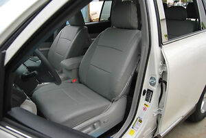 Toyota Highlander 2011 Iggee S Leather Custom Fit Seat Cover 13colors Available