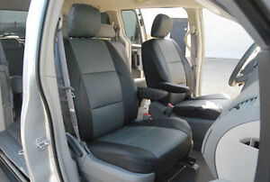 Dodge Caravan 1996 2000 Iggee S leather Custom Seat Cover 13colors Available