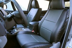 Toyota Tacoma 2005 2015 Iggee S leather Custom Fit Seat Cover 13colors Available