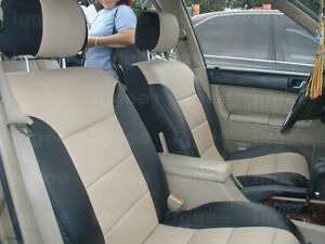 Volvo S60 2001 2008 Iggee S Leather Custom Fit Seat Cover 13 Colors Available