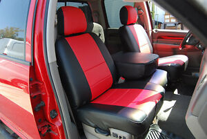 Dodge Ram 1500 2500 3500 2003 2012 Iggee S Leather Custom Fit Seat Cover 13color