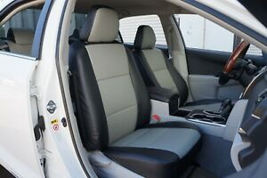 Toyota Yaris 2010 2019 Iggee S Leather Custom Fit Seat Cover 13 Colors Available