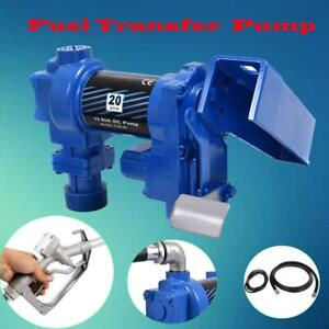 New 12v Dc 20gpm Gasoline Fuel Transfer Pump Explosion proof Set Gas Diesel