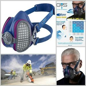 Half Mask Respirator Lightweight Medium Large Safety Working Outdoor Tools