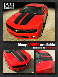 Chevrolet Camaro 2010 2015 Rally Racing Stripes Hood Trunk Decals Choose Color