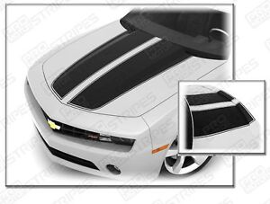 Chevrolet Camaro 2010 2015 Rally Sport Stripes Hood Trunk Decals choose Color