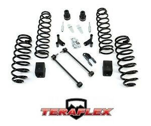 Teraflex 2 5 Suspension Lift Kit Shock Extensions 07 18 Jeep Wrangler Jk 4 Door
