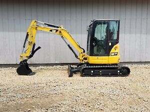 Thumb 2013 Caterpillar 303 5e Cr Mini Track Excavator Cab Heat Air Aux Hyd Cat