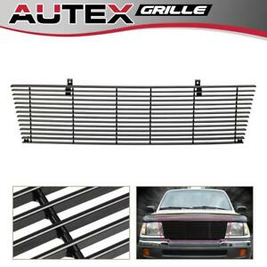 Autex Black Billet Grille Grill Insert Main Upper For Toyota Tacoma 1998 2000