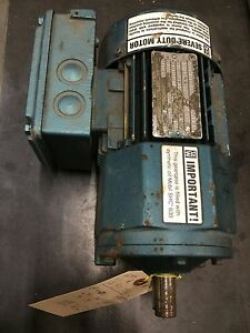 Sew eurodrive Gear Motor 230 460v 1 2hp 3 ph 82 Rpm New Tefc Severe Duty