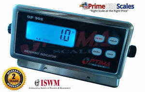 Optima Op 902 Scale Indicator Scale Display Weighing Indicator