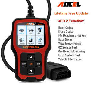 Car Obd2 Code Reader Engine Diagnostic Tool For Chevy Benz Nissan Ford Acura Gmc