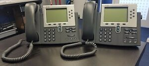 Two Cisco Ip Phone 7961