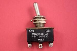 Military Ms25100 23 Toggle Switch