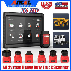 Xtuner Heavy Duty Diesel Hd Truck Obd All System Diagnostic Scanner Tool Dpf Abs