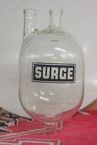 Surge Dairy Receiver Jar Water Melon Shaped Three 1 Flanges Total