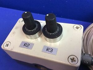 2x Potentiometer 4k7a With Klockner Moeller Enclosure And Cables speed Control