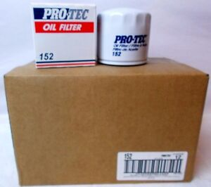 Pro Tec Engine Oil Filter 152 Case Of 12 Filters