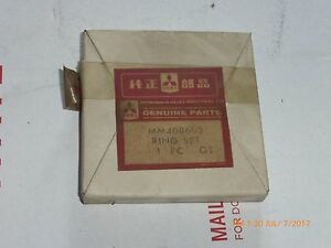 Nos Oem Mitsubishi Satoh Piston Rings Mm408603 Mt180