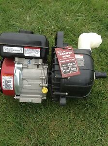 Portable Water Pump Gasoline Used 1 Time