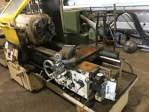 Used 16x30 60 Monarch Engine Lathe 15 4 jaw Chuck