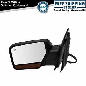 Mirror Power Fold Heated Signal Memory Textured Driver Side For Ford Lincoln