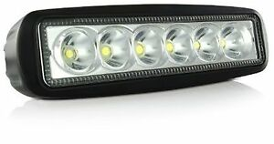 Led 18w High Power Work Light Lamp For Off Road Truck Boat Atv Tractor