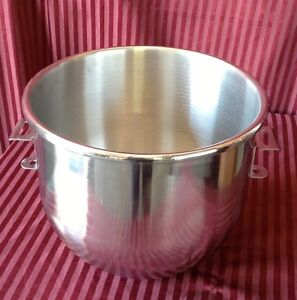 New 20 Qt Mixing Bowl Hobart Classic Mixer Stainless Steel Uniworld Um 20b 1111