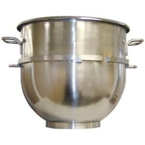 New 60 Qt Mixer Bowl Classic Hobart Stainless Steel 1250 Uniworld Um 60b Mixing