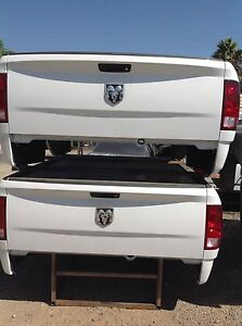 09 18 Dodge Ram Tailgate White Oem takeoffs Complete