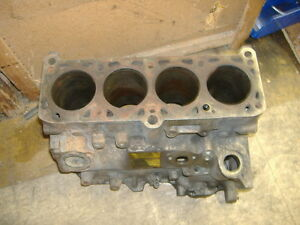 Vw Diesel 1 5 D Block Shell Case 77 80 Yr Rabbit Jetta Dasher Rebuildable