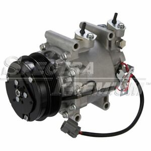 A C Ac Compressor New With Clutch 38810rmea01 For Honda Fit 2007 2013 0688971