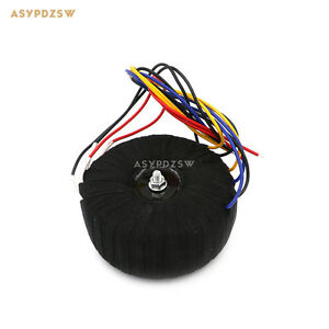 500w Black Cloth Ofc Toroid Transformer For Nap200 Power Amplifier 28v 0 28v 2