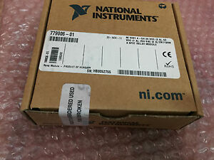 New Sealed National Instruments Ni 4 Channel Relay Output Module Crio Ni 9481