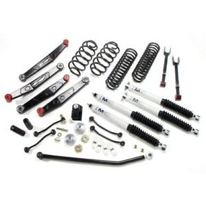 Pro Comp K3087b 4 Stage Ii Short Arm Lift Kit With Front Rear Es9000 Shocks
