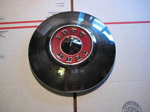 1955 55 Ford 10 5 8 Dog Dish Poverty Hubcap Hub Cap Used Oem Original