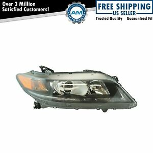 Halogen Headlight Lamp Assembly Rh Passenger Side For Honda Accord Coupe 2 4l