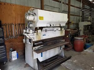 Wysong H 3572 Hydro mechanical Press Brake 1866