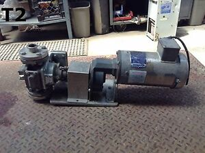 Blackmer Snp1 5 Rotary Vane Pump 3ph 316ss 1 5hp 21gpm 79l min 1 5