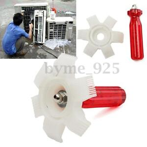 6 In 1 Air Conditioner Radiator Condenser Fin Comb A C Straightener Cleaner Tool