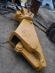 La Bounty Shear Hydraulic Mini Excavators W 360 Rotator And Excavator Mount