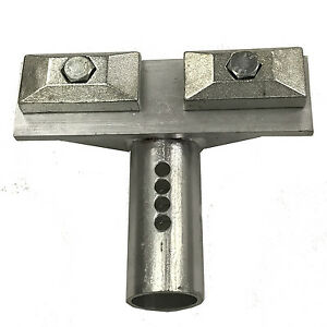 Anchoring Tube And Clamps For Frame Machine Anchoring Chief Style