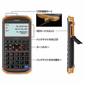 New Casio Fx fd10 Pro Civil Engineering Surveying Calculator Japan
