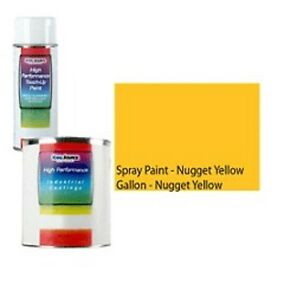 Hyster Forklift Gallon Paint Nugget Yellow Parts 4221 Oem Color Match