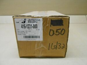 1 Nib Jefferson Electric 416 1231 000 0 50 Kva 1ph Winding Aluminum Transformer