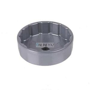 74mm X 14 Flutes Oil Filter Cup Socket Cap Wrench Remover Tool For Benz Vw Audi